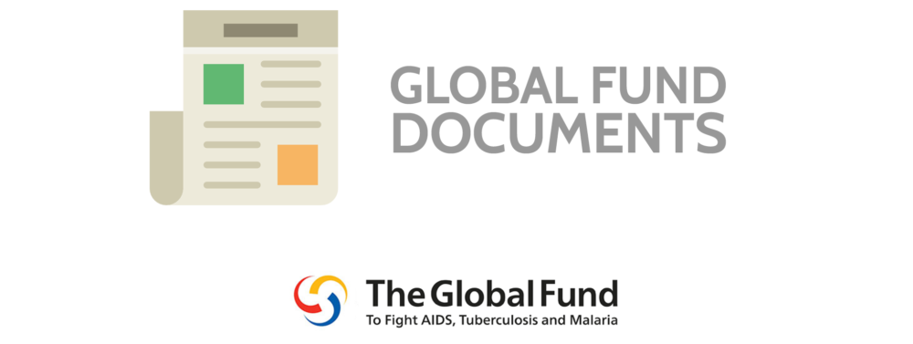 Global Fund Documents