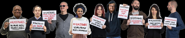 Declaración de la sociedad civil y las comunidades para Acabar con el VIH