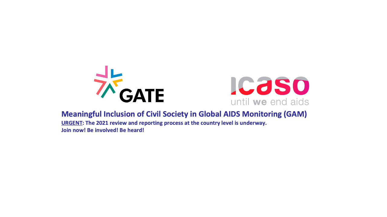 Meaningful Inclusion of Civil Society in Global AIDS Monitoring (GAM)