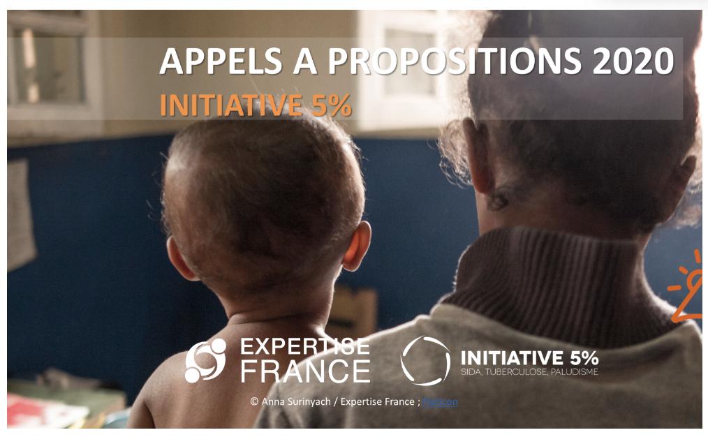 Appels à propositions 2020 de l'Initiative 5% sont publiés ! / 2020 calls for proposals of the 5% Initiative are published!