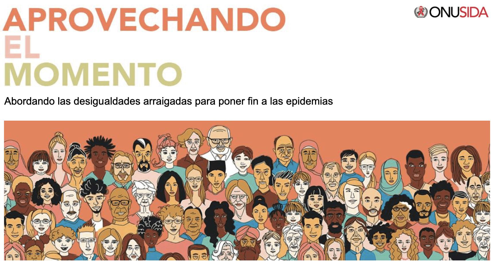 Actualización Global Sida 2020  — Aprovechando el momento — Afrontando las desigualdades arraigadas para poner fin a las epidemias