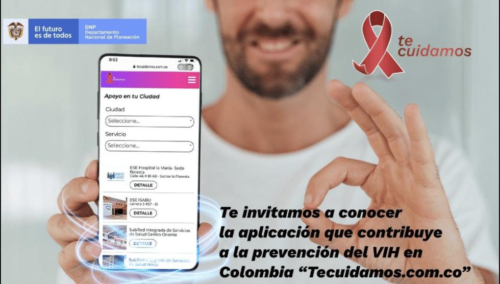 """Presentación de la aplicación """"Tecuidamos.com.co"""""""