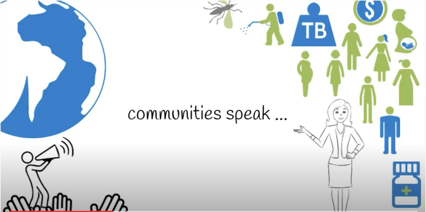 The communities and populations speak…