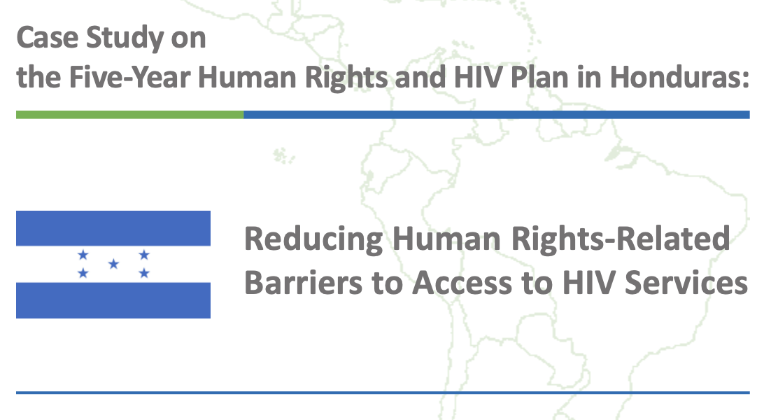 Case Study on the Five-Year Human Rights and HIV Plan in Honduras