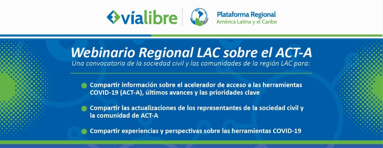 Webinario Regional LAC sobre el ACT-A