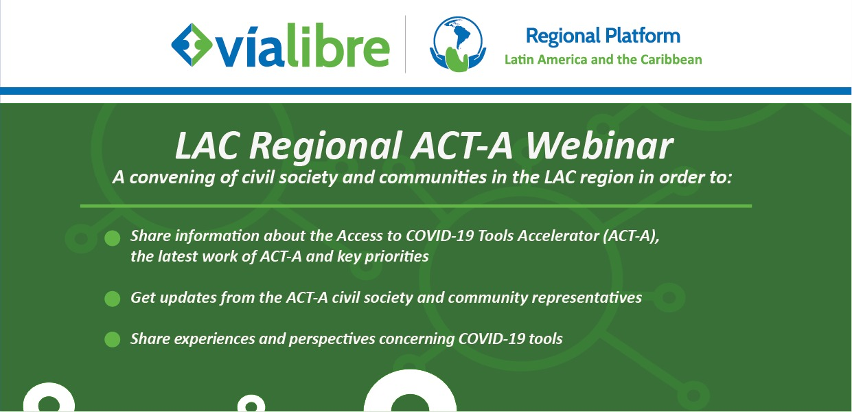 LAC Regional ACT-A Webinar