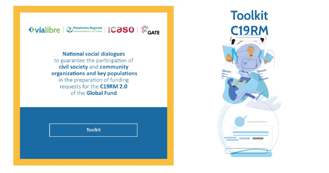 National social dialogues to guarantee the participation of civil society and community organizations and key populations in the preparation of funding requests for the C19MR 2.0 of the Global Fund