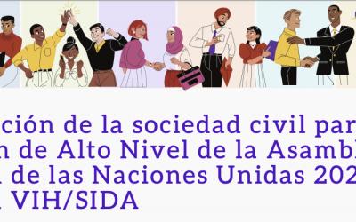 Declaración de la sociedad civil para la Reunión de Alto Nivel de la Asamblea General de las Naciones Unidas 2021 sobre el VIH/Sida