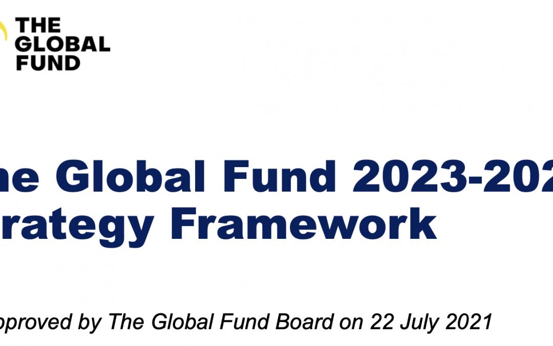 The Global Fund Strategy Framework 2023-2028